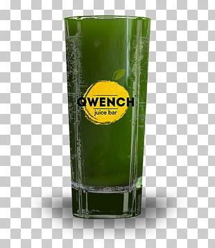 Orange Juice Chia Seed Pint Glass Wheatgrass PNG