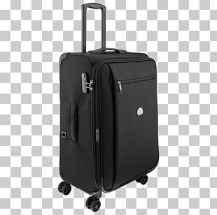 Suitcase Hand Luggage Baggage Delsey Travel PNG