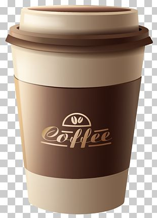 White Coffee Tea Espresso Coffee Cup PNG
