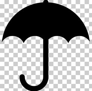 Silhouette Umbrella PNG