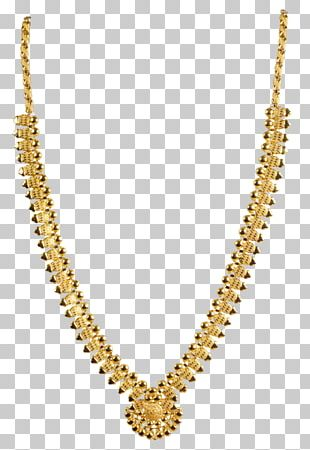 Necklace Jewellery Colored Gold Chain PNG