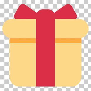 Gift Emoji SMS Birthday Christmas PNG