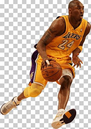 Kobe Bryant Basketball Slam Dunk PNG