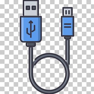 Battery Charger Computer Icons Micro-USB Electrical Cable PNG