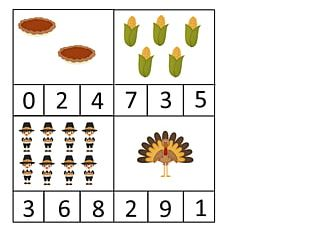 Thanksgiving Pre-school Craft Game PNG