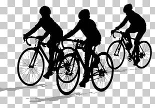Bicycle Cycling Silhouette PNG