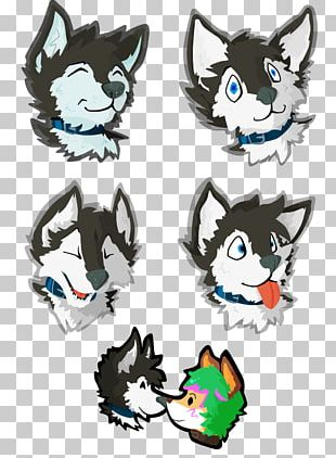 Cat Siberian Husky Sticker Telegram Canidae PNG