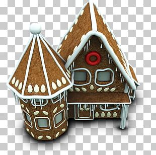 Christmas Ornament Food Gingerbread House Christmas Decoration PNG