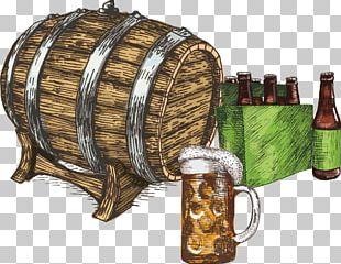 Draught Beer Oktoberfest Illustration PNG