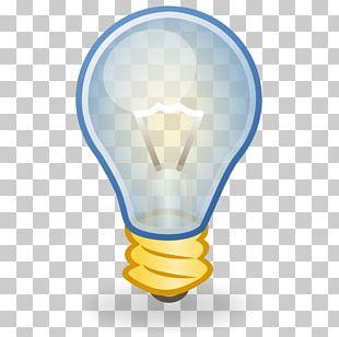 Incandescent Light Bulb Lighting PNG