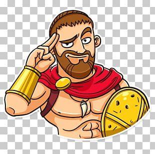 Sparta Telegram Sticker VK PNG