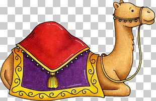 Camel Christmas Drawing Manger PNG
