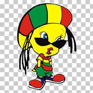 Tweety Rastafari Reggae Looney Tunes Cartoon PNG
