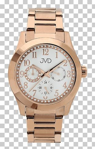Watch Fossil Group Quartz Clock Gold PNG