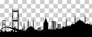 Bosphorus Metro Suites Taksim Skyline Silhouette PNG