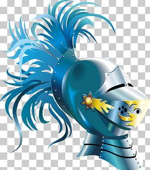 Helmet Knight Cartoon PNG
