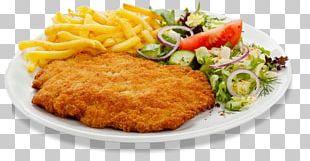 Wiener Schnitzel French Fries German Cuisine Bistro PNG