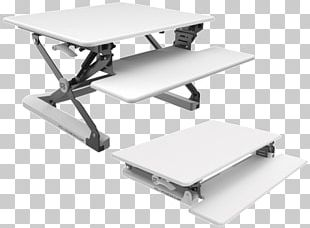 Table Standing Desk Sit-stand Desk Office PNG
