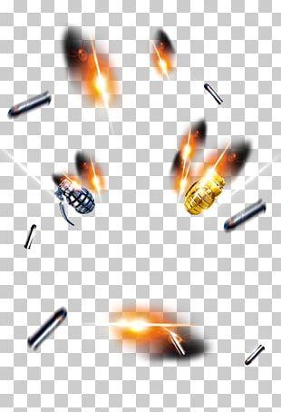 Bullet Land Mine Cartridge Computer File PNG