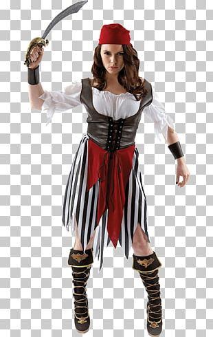 Piracy Costume Party Woman Clothing PNG