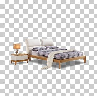 Bed Frame Table Nightstand Furniture PNG