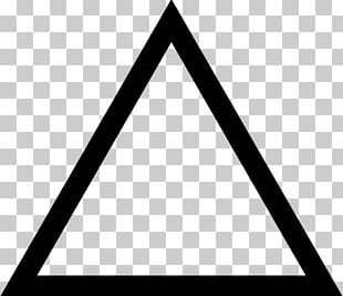 Triangle Car Icon PNG