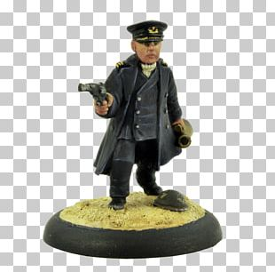 Army Officer Figurine Military PNG