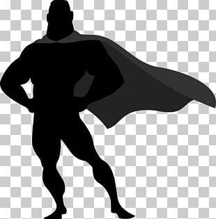 Superman Silhouette Superhero Angular PNG