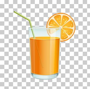 Orange Juice PNG