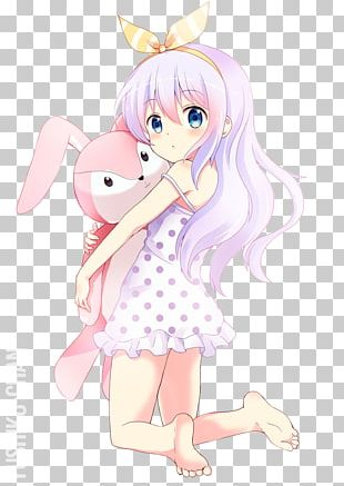 Anime Drawing Is The Order A Rabbit? PNG
