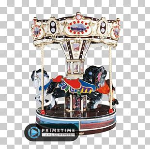 Carousel Kiddie Ride Amusement Park Horse Airplane PNG