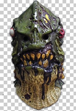 Mask Fish Monster Zombie Halloween PNG