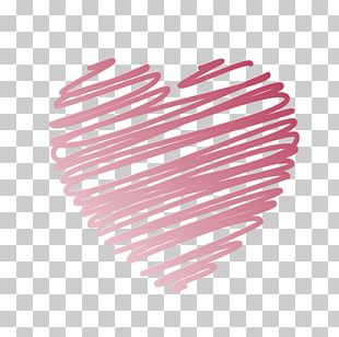 Valentines Day Heart Greeting Card Wish PNG