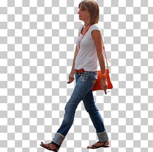 Walking Woman PNG