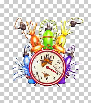 Tattoo Artist Ink Time Bomb Clock PNG
