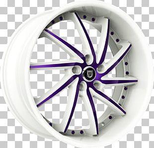 Alloy Wheel Car Spoke Rim PNG
