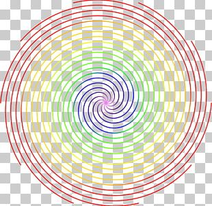 Spiral Circle Point Font PNG