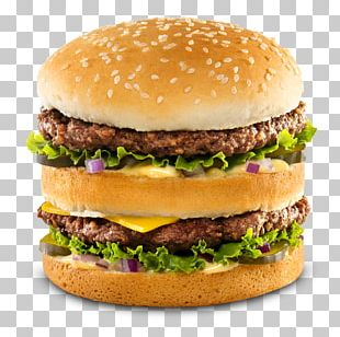 Hamburger Veggie Burger McDonald's Big Mac Breakfast Sandwich Fast Food PNG