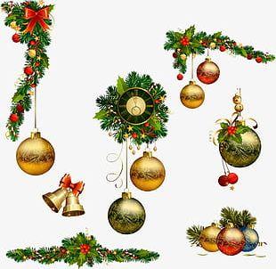 Christmas Decoration Christmas Balls PNG