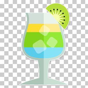 Cocktail Orange Juice Wine Glass Coconut Water PNG