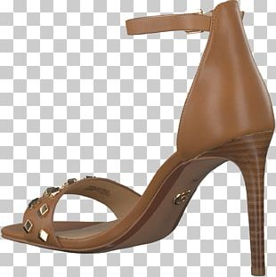 Footwear Sandal High-heeled Shoe Brown PNG