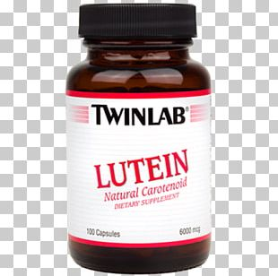Dietary Supplement Twinlab Lutein Capsule Vitamin PNG