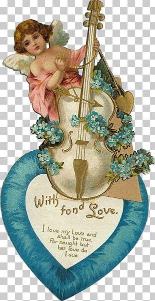 Valentine's Day Vinegar Valentines Post Cards Валентин PNG