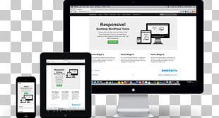 Responsive Web Design Web Page Computer Monitors Gadget Display Advertising PNG