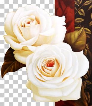 The Art Of Painting Oil Painting Beach Rose PNG