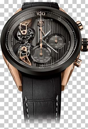 Watch TAG Heuer Carrera Calibre 16 Day-Date Chronograph Tourbillon PNG