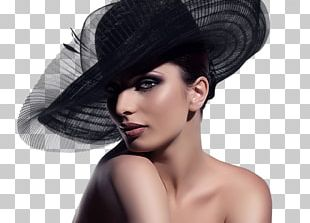 Woman With A Hat Straw Hat PNG