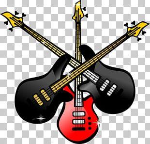 Bass Guitar Electric Guitar Musical Instrument PNG