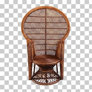 Table Chair Wicker PNG