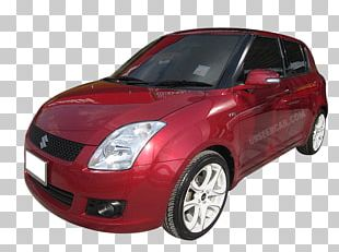 Suzuki Swift City Car Alloy Wheel Motor Vehicle PNG